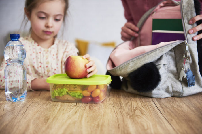 Children will munch through a whopping 28 snacks a week