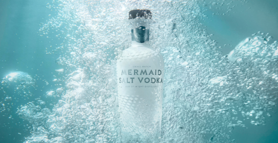 Stunning New Look For Mermaid Salt Vodka