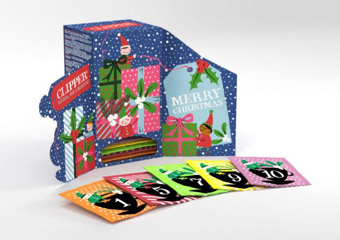 Clipper Teas Launches Organic Tea Advent Calendar