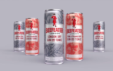 Boundless Brand Design collaborates with Beefeater to launch into RTD market with London Dry Gin & Tonic and Pink Strawberry Gin & Tonic