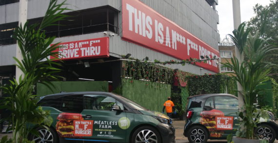 Meatless Farm and Adverttu Show Off the Power of OOH Swarming