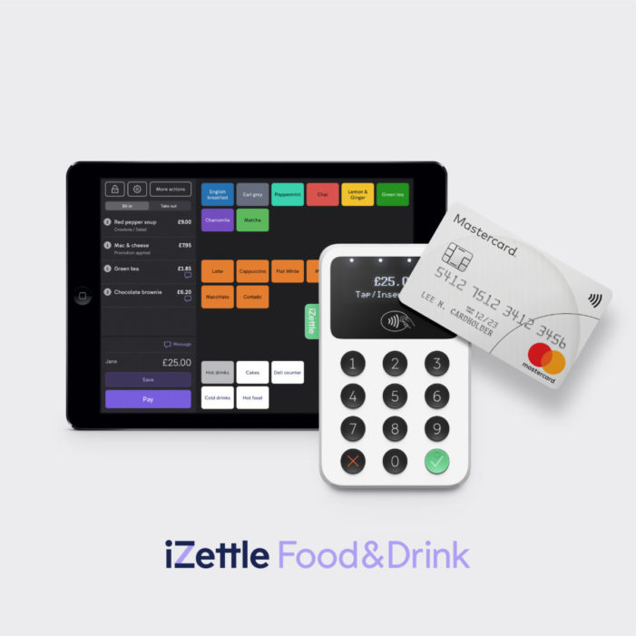 PayPal launches iZettle Food & Drink to support UK hospitality businesses