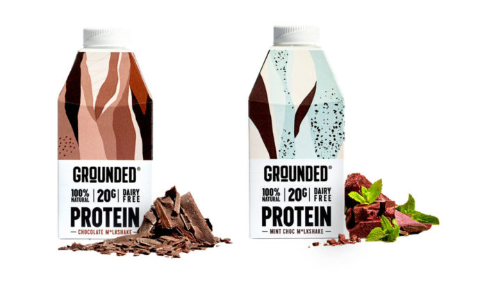 Start-up GROUNDED has partnered with SIG to launch innovative plant-based protein shakes