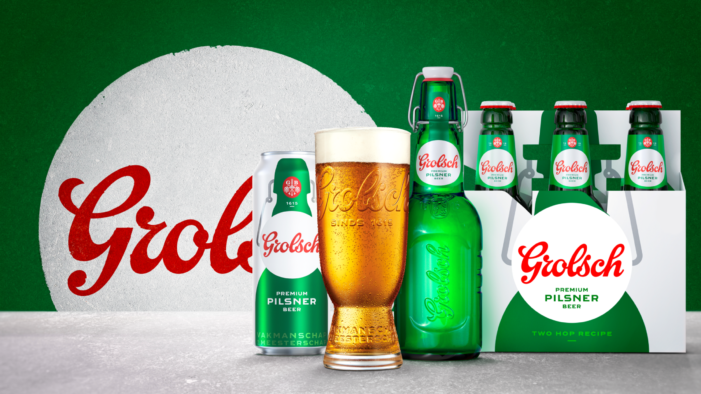 Grolsch returns to the UK with new brand identity