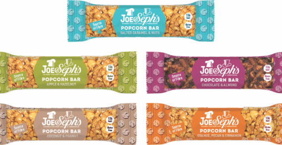 Gourmet Popcorn Chef & Connoisseur, Joe & Seph's, Launches The UK's First Premium Popcorn Bar Range