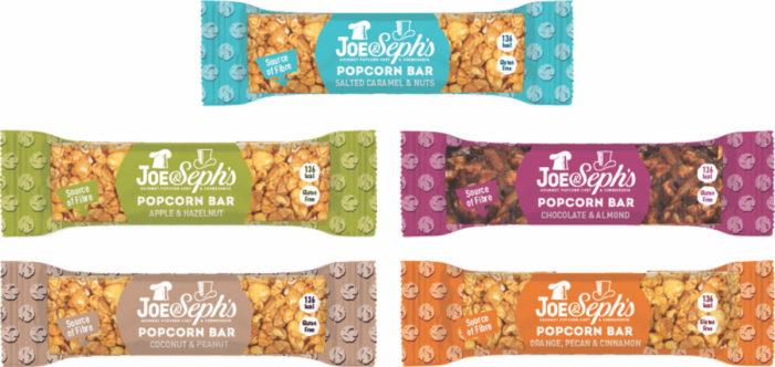 Gourmet Popcorn Chef & Connoisseur, Joe & Seph's, Launches The UK's First Premium Popcorn Bar Range