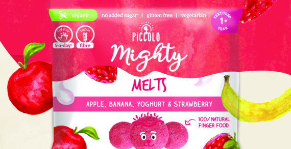 Piccolo adds duo of high fibre Melts and Bars to its kids' snacking range