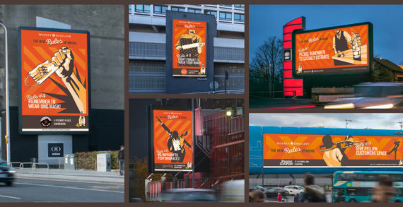 Monkey Shoulder has launched its first outdoor media campaign to support local bars and pubs
