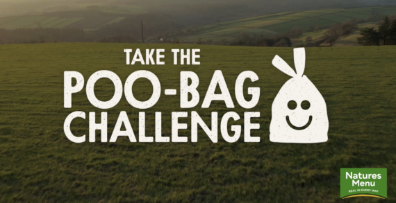Natures Menu's Poo Bag Challenge goes online with latest social spots