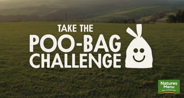 Natures Menu's Poo Bag Challenge goes online with latest social spots