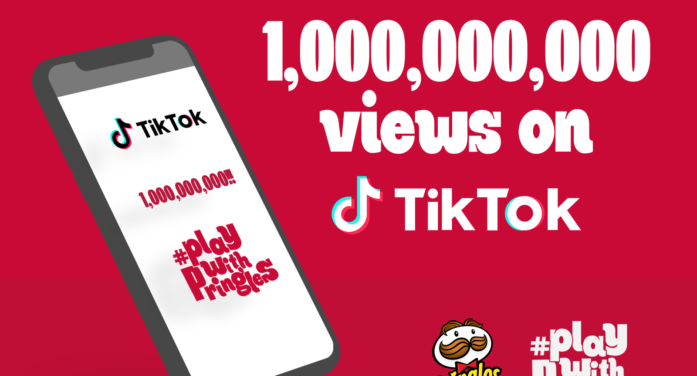 #PlayWithPringles amasses 1 billion views on TikTok
