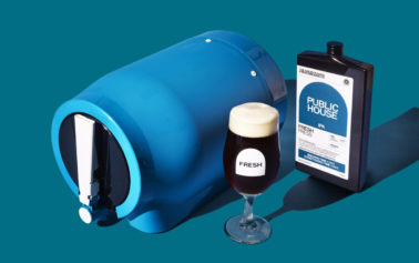 The Pinter launches. Make Fresh Beer at home for the first time