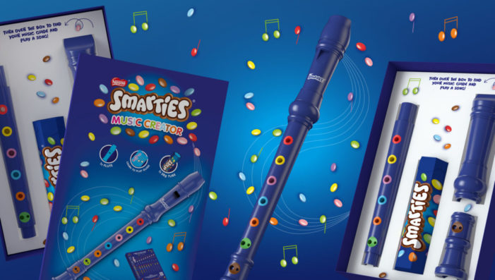 Smarties partners with Echo to bring children's learning to life through interactive design