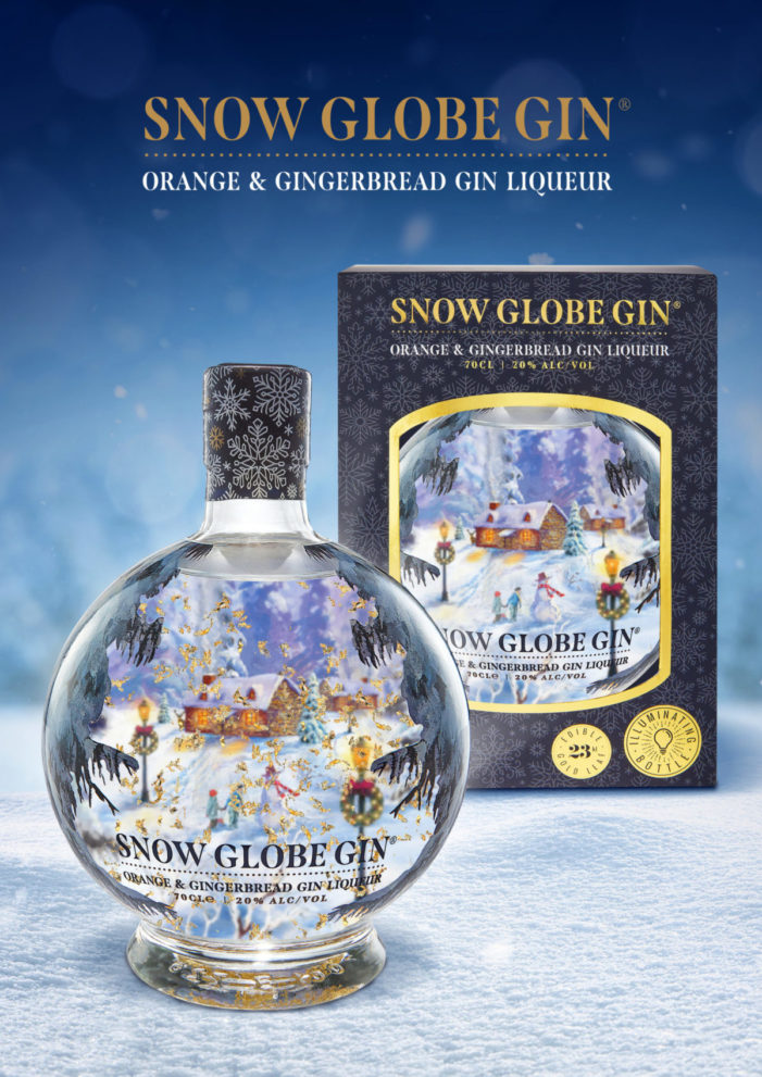 SNOW GLOBE GIN – New for Christmas 2020 – We're orange & spice and all things nice.