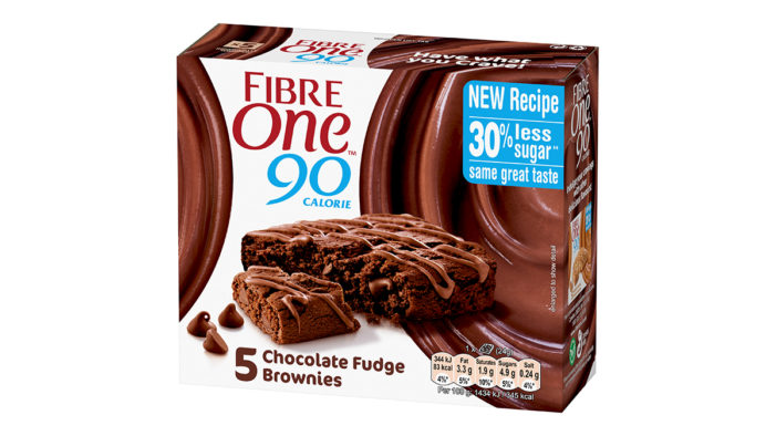 Fibre One revamps recipe to offer 30% less sugar
