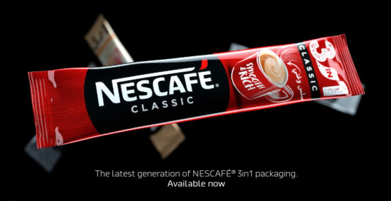 NESCAFÉ parodies tech launch events in its 'new packaging' ad