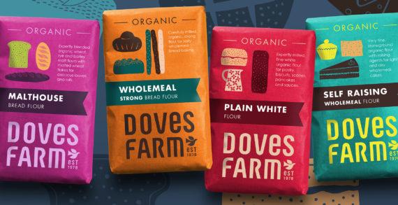 Studio h creates bold new look for Doves Farm