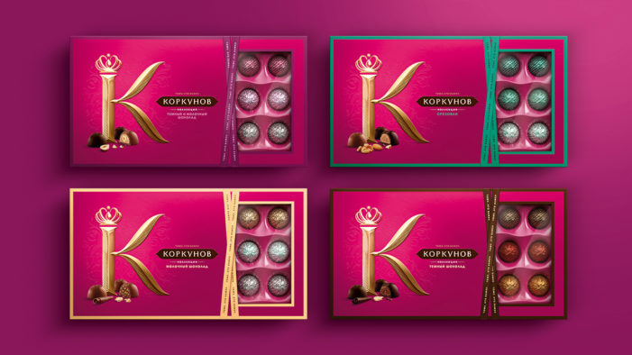 Taxi Studio helps Korkunov reach a new sweet spot by redefining Russian gifting.