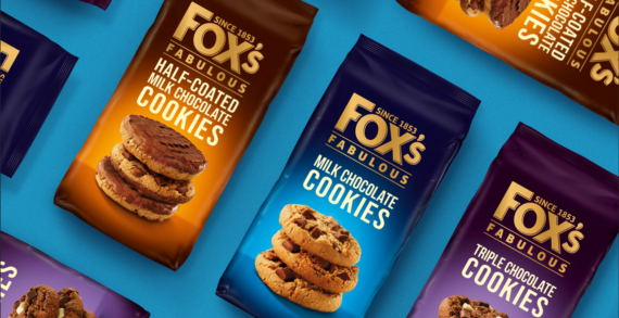Coley Porter Bell unveils brand new pack design for Fox's Biscuits premium range: Fox's Fabulous