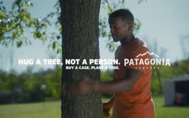 """GUT & ABI say """"hug a tree, not a person"""" for Cerveza Patagonia"""