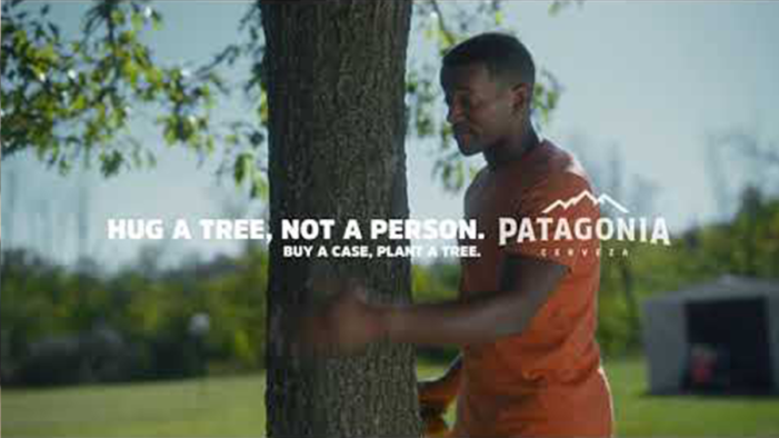 "GUT & ABI say ""hug a tree, not a person"" for Cerveza Patagonia"