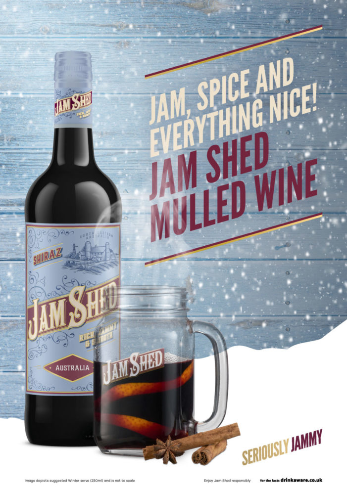 Jam Shed relaunches Mulled Wine Campaign ahead of Christmas