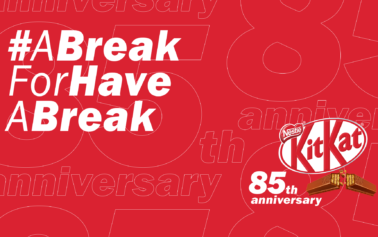 """KITKAT's famous slogan """"Have a break, have a KITKAT"""" finally gets a well-deserved 10 days break to celebrate the brand's 85th birthday in new campaign"""
