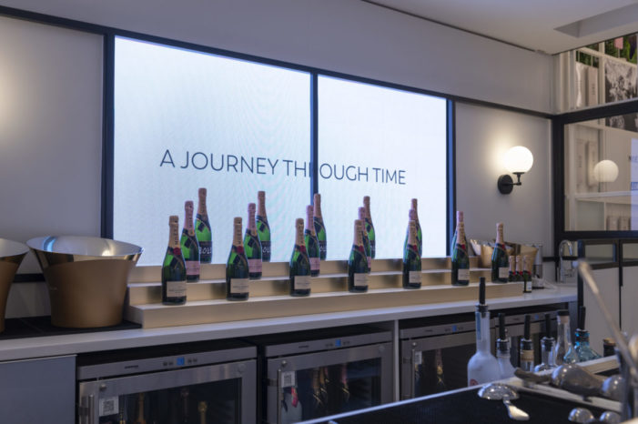 LOVE reveals new champagne bar experience for Moët & Chandon at Selfridges