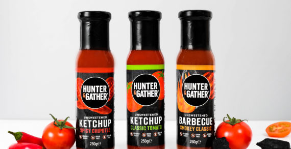 HUNTER & GATHER Launch 3 X Unsweetened Keto Ketchups Made With Organic Tomatoes And No Added Sugars Or Sweetners
