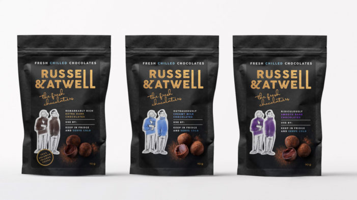 Russell & Atwell Launch Fresh Chilled Chocolates