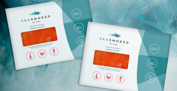 Sea Smoked, the UK's first 100% plastic-free packaged smoked salmon, launches in the UK