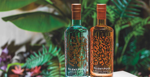 Seymourpowell expand Distillers' range with unique Silent Pool Rare Citrus Gin