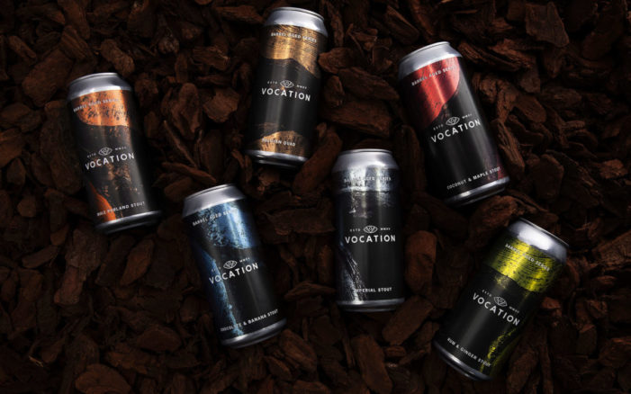 Robot Food design Vocation Brewery's Barrel Aged Series