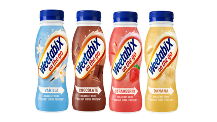 Weetabix On The Go introduces new 100% recyclable bottles