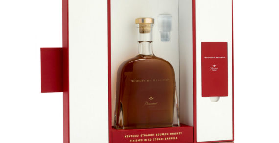 GPA Luxury teams up with Woodford Reserve to produce a striking red and white pack for the bourbon brand's Baccarat Edition