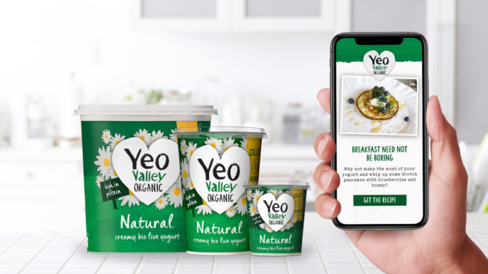 Yeo Valley Organic launches 'always on' connected packaging across product portfolio