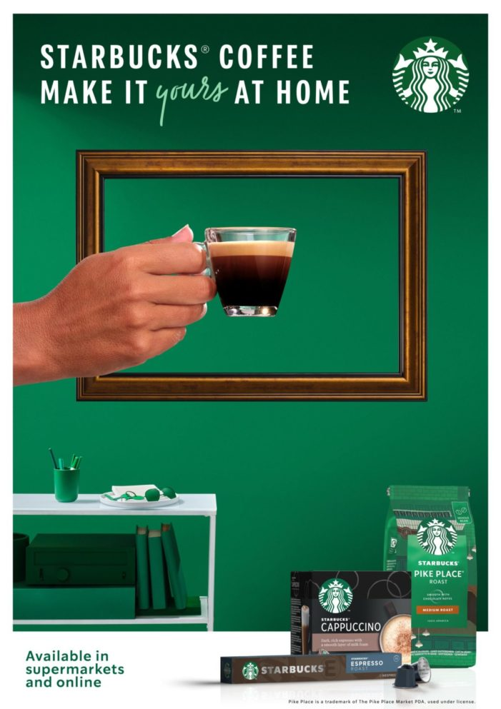 STARBUCKS Helps Coffee Lovers Make It Theirs At Home In New Global Campaign