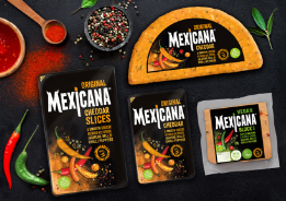 Norseland unveils new branding created by Madeyoulook for its leading spicy cheese, Mexicana