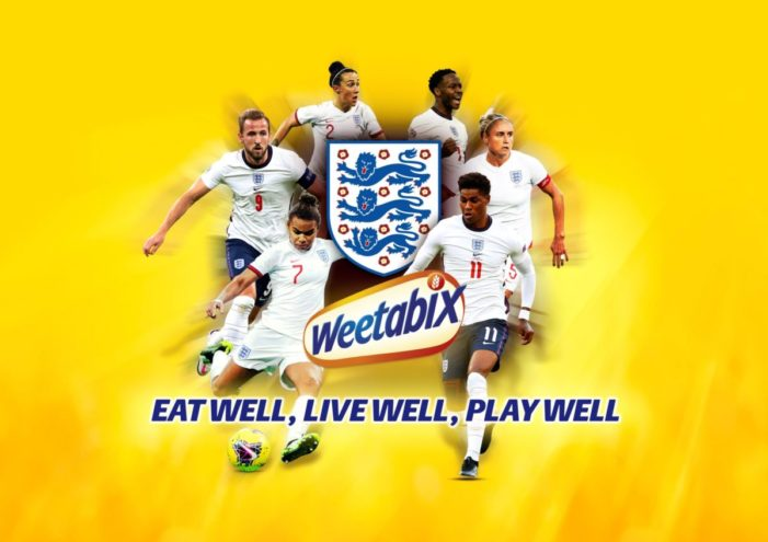 Weetabix and The FA encourage nation to 'Eat Well, Live Well, Play Well' in new football partnership