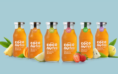 Lewis Moberly create identity for Coconutea, a new player in the organic food and beverage sector