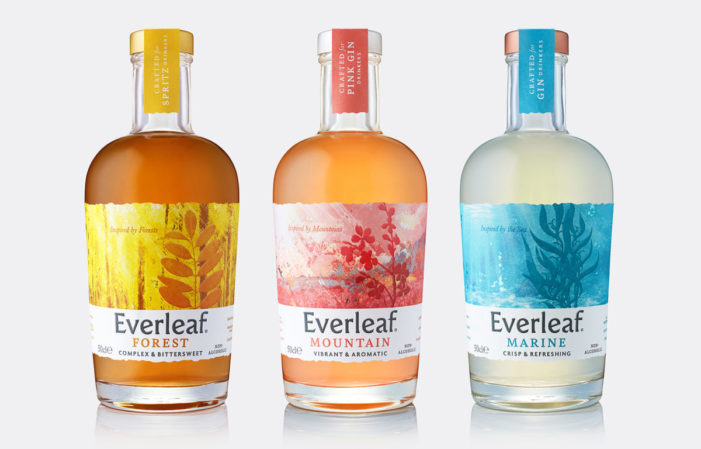B&B studio reimagines leading non-alcoholic aperitif Everleaf and introduces two new products to the range