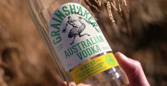 Pearlfisher creates a characterful brand design for Australian vodka brand, Grainshaker.