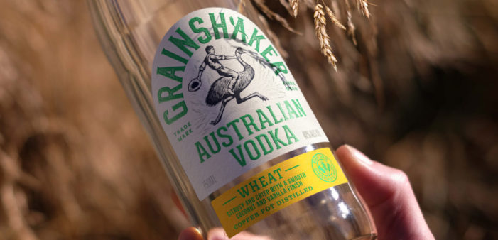 Pearlfisher creates a characterful brand design for Australian vodka brand, Grainshaker.