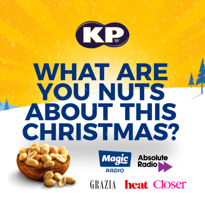 Starcom launches 'Nuts About Christmas' campaign with KP Snacks in partnership with Bauer Media