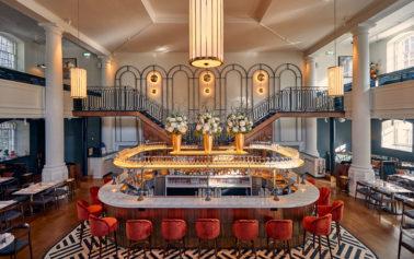 DesignLSM transform an 18th century Quakers Friars building into a spectacular restaurant destination