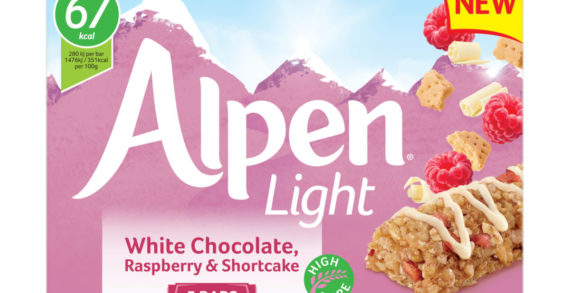 New Alpen Light bar set to delight cereal bar snackers