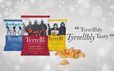 St Luke's And KP Snacks Bring Us A Tyrrellbly, Tyrrellbly Tasty Christmas