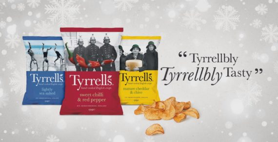 St Luke's And KP Snacks Bring Us A Tyrrellbly, Tyrrellbly Tasty Christmas
