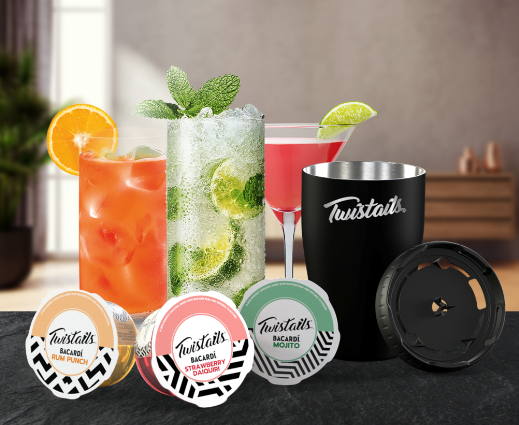 Bacardi Announces the Launch of Twistails – Bar-Perfect Cocktails At Home