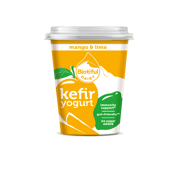 BIOTIFUL Launches Four Strong Kefir Yogurt Range